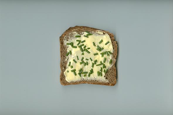 Die einfachste Form des Butterbrotes