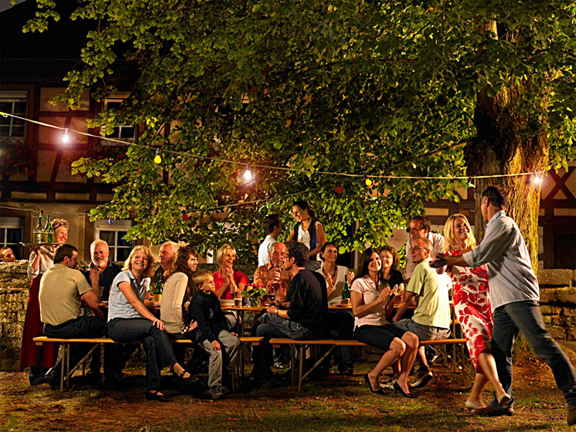 Weinfest von Hans-Georg Merkel